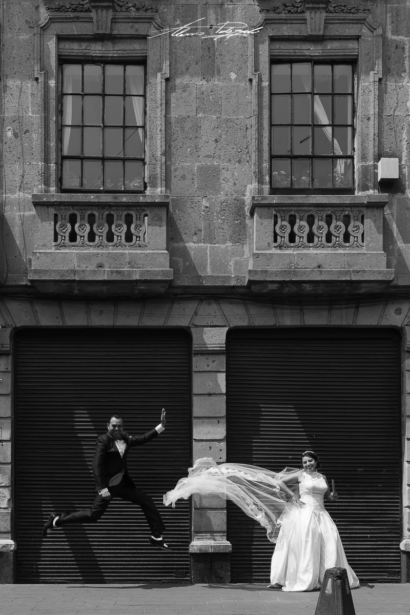 Fotógrafo de bodas, trash the dress, México